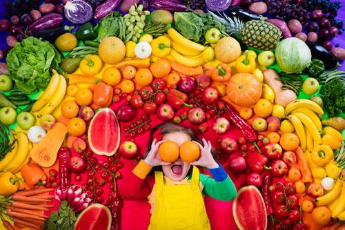 fruit-and-vegetables ingredients